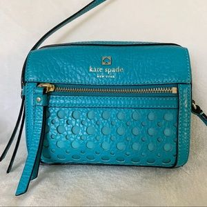 Kate Spade Crossbody Turquoise Blue